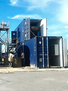 WWTP for a trucking tank cleaning area in Colombia 80m³/day