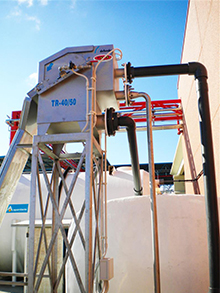 Total oxidation equipment at winery in Valdepeñas 20m³/day