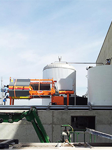 WWTP Extension with equipment supply in beer factory