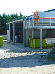 WWTP extension in fish canning 400m3/day