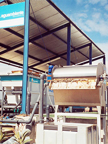 WWTP fish industry