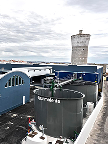 WWTP in Canning industry 200m³/day