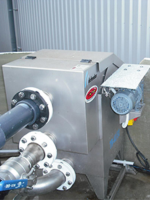 WWTP in the fish canning industry for 45 m3/day