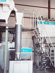 Vegetable processing WWTP
