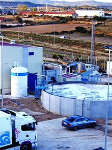WWTP in pastry products factory 200m³/day