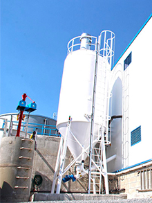 Baked goods factory WWTP extension 120m³/day