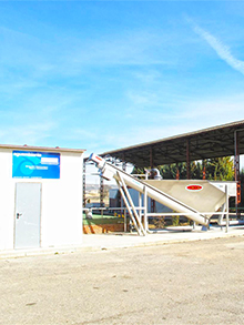 Beet cultivation laboratory WWTP 24m3/day