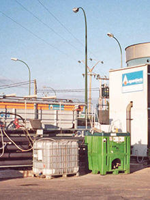 Pretreatment for frozen product industry