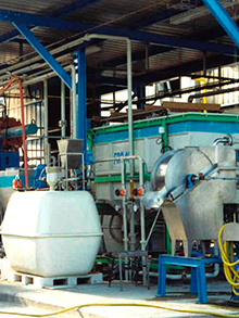 WWTP Extension with equipment supply and automation