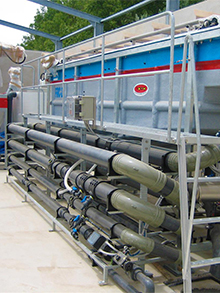 WWTP wine industry 250 m3/day