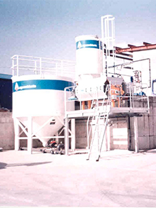 Paint factory WWTP 15m³/day