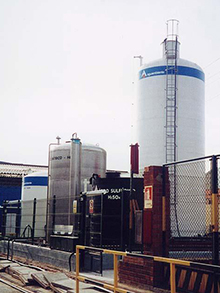 WWTP chemical plant
