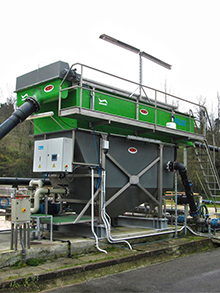 Cheese factory WWTP 200m³/h