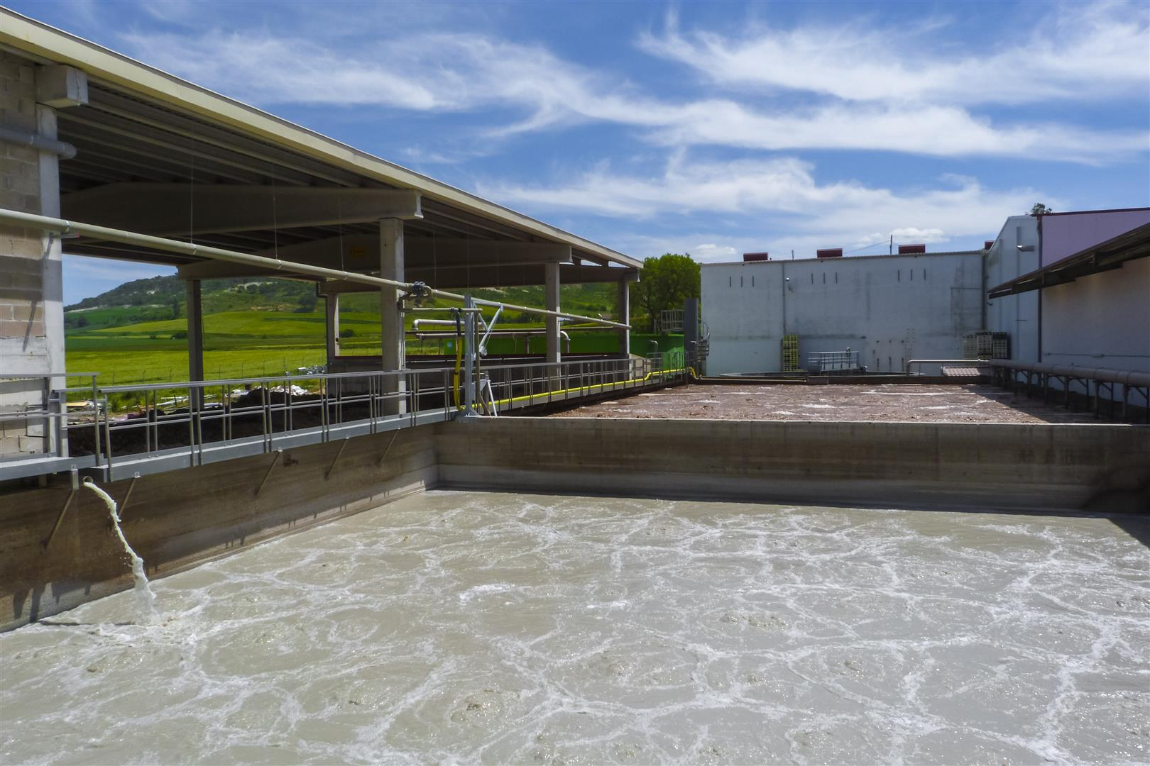 WWTP Remodelation in cheese factory 300m3/day - www aguambiente com