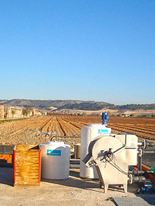 WWTP extension in Ribera del Duero winery 40m3/day