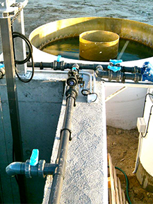 WWTP in winery