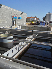 WWTP in winery 175m3/day
