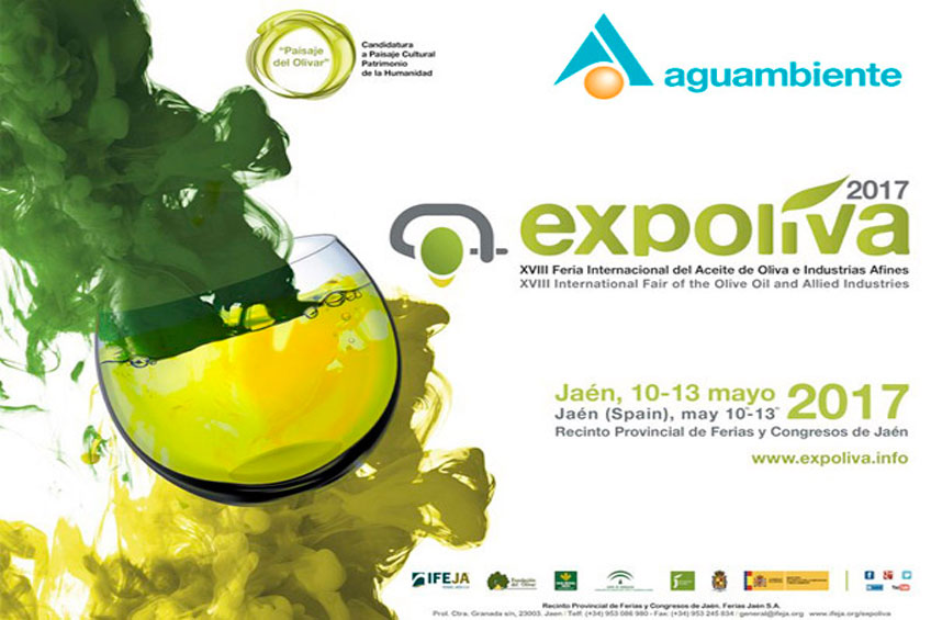 Aguambiente is going to be in Expoliva 2017
