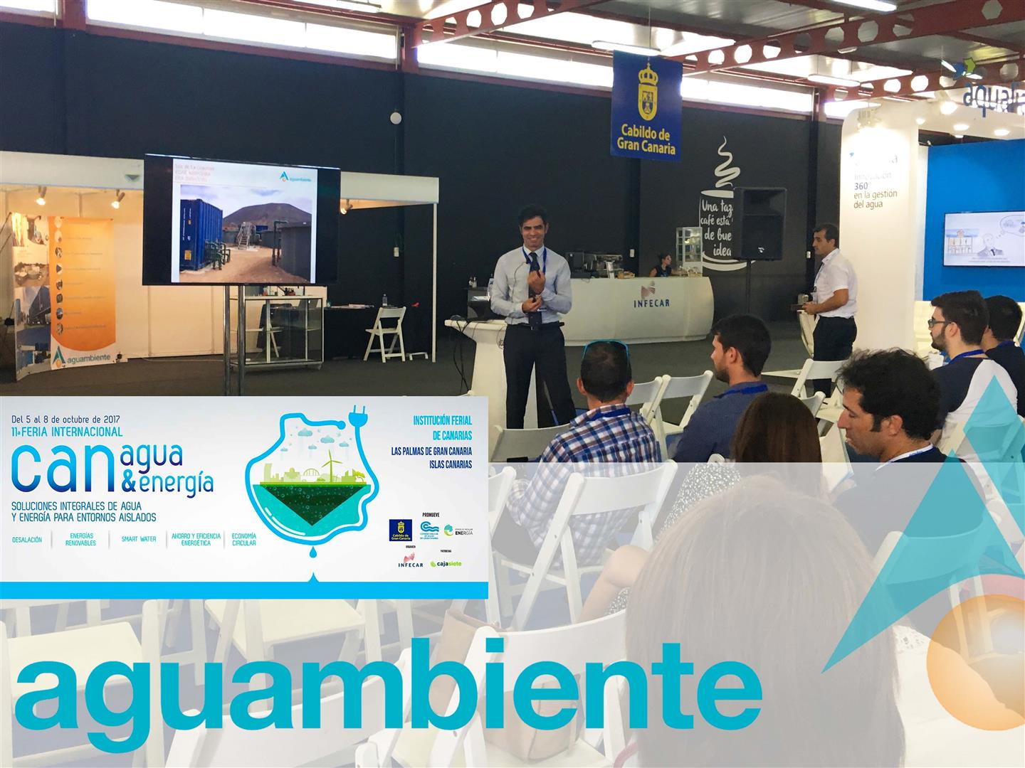 Thank all the visitors in Canagua & Energía
