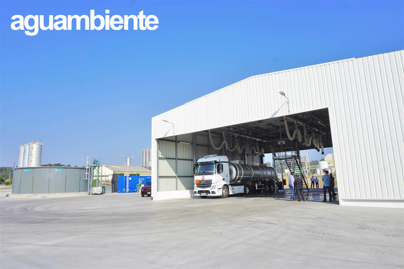 Montes Orozco inaugurates a new tank cleaning in Estarreja