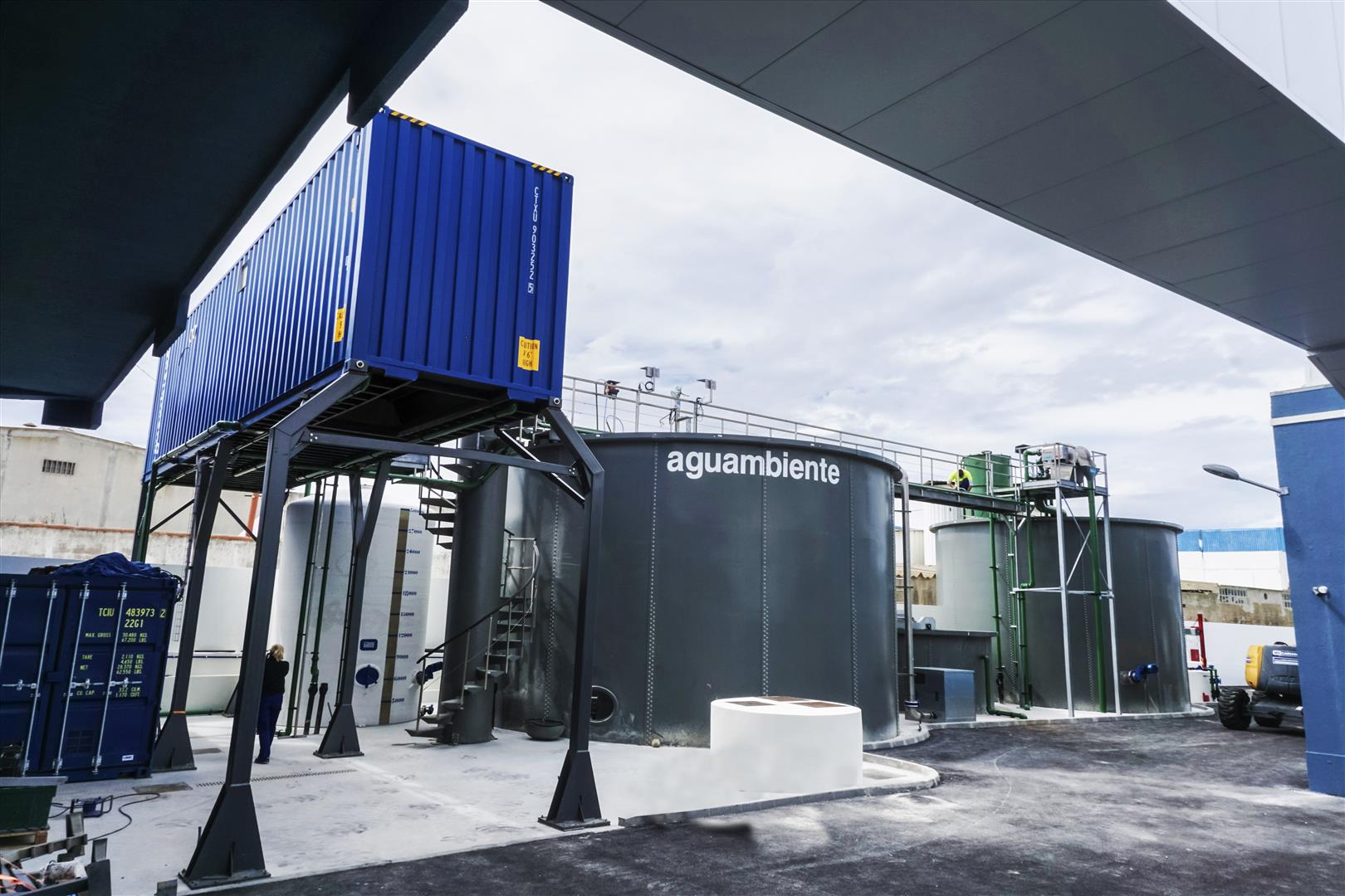 Estación de depuración de aguas residuales, industria conservera