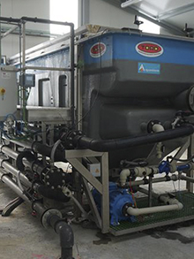 WWTP in oils and oleaginous industry